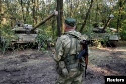 "Отряд сепаратистов ""Восток"", воюющий под Донецком"
