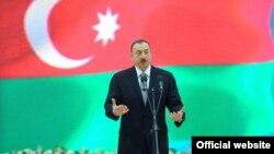 Ильхам Алиев на церемонии открытия Олимпийского центра в Астаре, 13 марта 2012