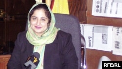 Anarkali Honaryar has been named Radio Free Afghanistan's Person of the Year.