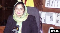 Afghanistan -- Anarkali Honaryar, Radio Free Afghanistan's 'Person of the Year.' (21Mar2009)