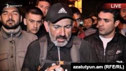 Etirazlara millət vəkili Nikol Paşinyan liderlik edir