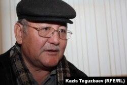 "Рысбек Сарсенбай, главный редактор газеты ""Жас Алаш"". Алматы, 28 февраля 2013 года."
