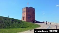 Вежа Гедыміна ў Вільні, наш час
