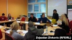 """Učesnici programa """"Podsticanje demokratskih vrijednosti i aktivnog građanstva među mladima"""""""