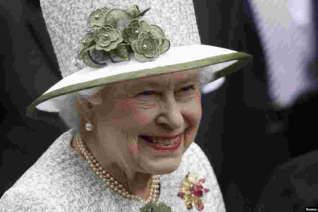 Queen Elizabeth II celebrates 60 years as Britain's reigning monarch.