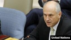 Valentin Incko na sastanku Vijeća sigurnosti u novembru 2012.