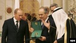 Путина встречают с королевскими почестями
