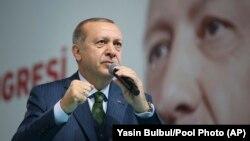 Түрк президенти Режеп Тайып Эрдоган.