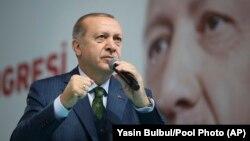 Президент Режеп Тайип Эрдоган.