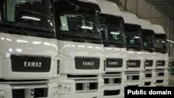"Tatarstan -- Trucks ""Kamaz""."