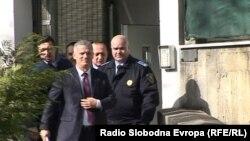 Fahrudin Radončić izlazi iz pritvorske jedinice, Sarajevo, 17. februar 2016.