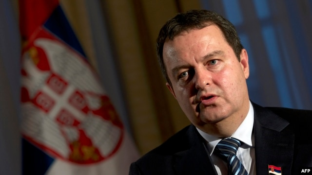 "Prime Minister Ivica Dacic called it a ""historic moment for Serbia."""