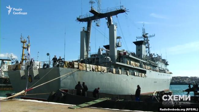 Корабель «Славутич» – один з тих, що лишилися в анексованому Криму