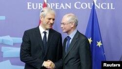 Boris Tadiq dhe Herman Von Rompuj