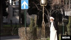 Smarter to walk? The head of the powerful Guardians Council, Ayatollah Ahmad Jannati (pictured), launched a broadside on ex-President Ali Akbar Hashemi Rafsanjani's candidacy by suggesting a Mercedes is unpresidential.