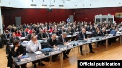 Belgium - The Political Assembly of the European People's Party meets in Brussels, 3Mar2015.