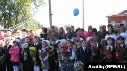 Иҗаудагы татар мәктәбендә 1 сентябрь бәйрәме