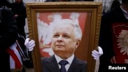 Польшанын авиакырсыкта мерт кеткен президенти Лех Качинский.