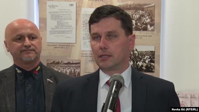 Željko Marković, direktor Užičkog i Omer Zulić, direktor Tuzlanskog arhiva