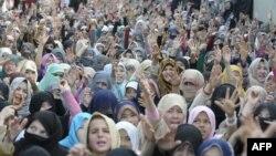 Шиитските жени на протест против нападите во Куета