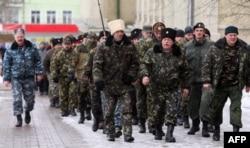 Казаки в Донецке
