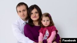Iurie Cojocaru și familia sa