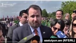 Посол США в Армении Ричард Миллз, Ереван, 9 мая 2018 г.
