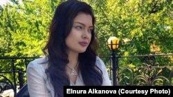 Эльнура Алканова, қырғызстандық журналист.