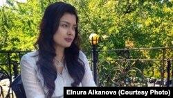 Элнура Алканова.