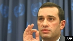 Georgian Ambassador Alasania addresses the crisis at the UN headquarters