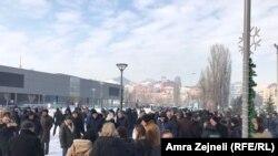 Protesta në Mitrovicë