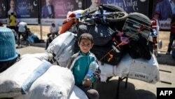 Сириялык качкын бала