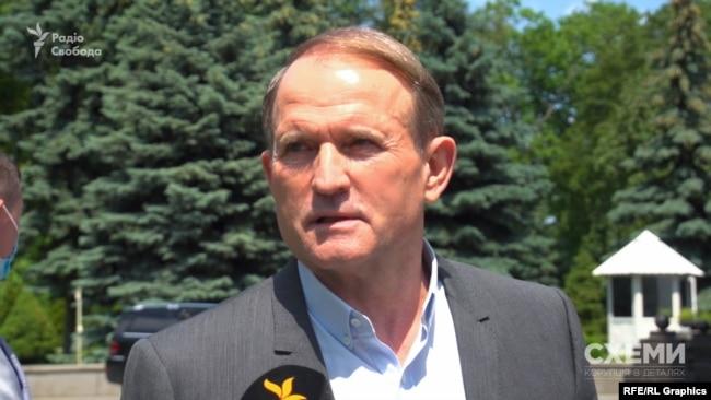 «Схеми» звернулися із запитаннями про російський нафтобізнес напряму до Віктора Медведчука, та він не відповів