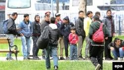 Migrantët kalojnë transit nëpë Maqedoni për në vendet e Evropës.