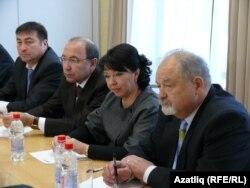 Павел Рыков (у), Вера Кадырова, Рәмис Дәүләтбаев һәм Азамат Хуҗәмәтов