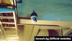 Одна из камер видеонаблюдения на ТЭЦ Бишкека. Фото депутата Акылбека Жамангулова.