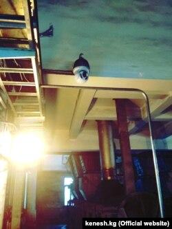 Одна из камер видеонаблюдения на ТЭЦ. Фото предоставлено депутатом Акылбеком Жамангуловым