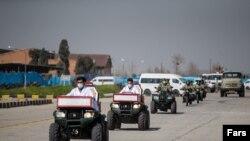 مانور مقابله با کرونا توسط ارتش