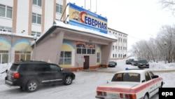 """Здание администрации шахты """"Северная"""" в Воркуте"""