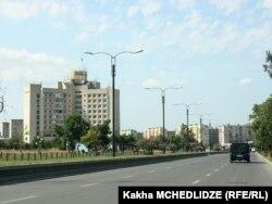 Rustavi şəhərinin mərkəzi