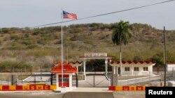 Гуантанамо түрмесі қақпаларының бірі. 8 наурыз 2013 жыл
