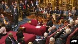 Засідання Палати лордів британського парламенту