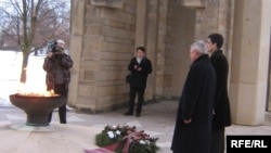 Czech Republic - The 18th anniversary of the tragic events in Azerbaijani town of Khojali was marked in Lidice, Czech Republic, 26Feb,2010