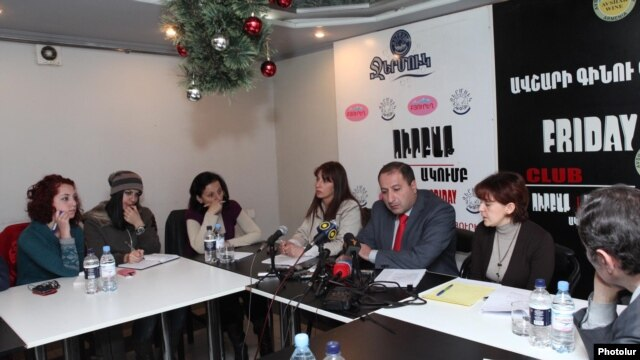 Armenia's best known NGOs typically rely on Western governments and foreign foundations for their funding. (file photo)