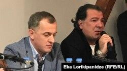 Гига Чхартишвили и Ираклий Дарцмелидзе
