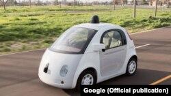 """Модель """"автомобиля без водителя"""", разработанная компанией Google"""