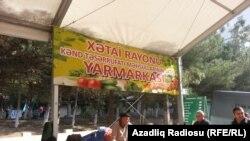 Bakının Xətai rayonunda Kənd Təsərrüfatı yarmarkası