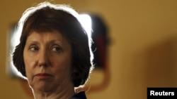 Catherine Ashton în Egipt