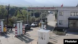 КПП Баграташен на армяно-грузинской границе