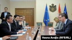 Razgovor u Vladi Srbije